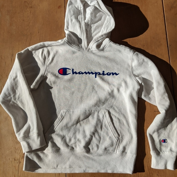 Champions hoodie in white